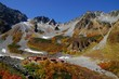 Mountain hutte in autumn