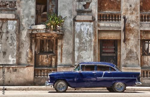 Foto op Canvas Foto van de dag Havana, Cuba