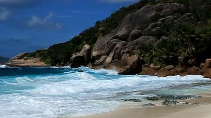 seychelles denis island spiaggia