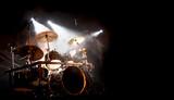 Fototapety Schlagzeug und Trommel beim Konzert