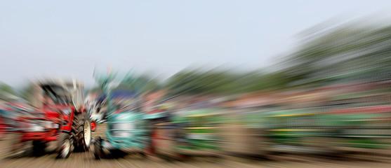 Traktor Motocross