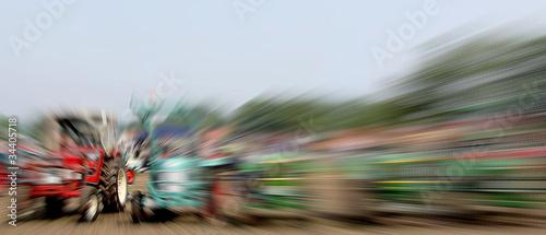 Foto op Plexiglas Motorsport Traktor Motocross