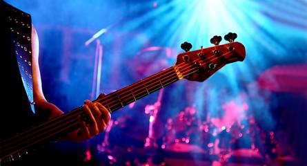 Gitarre im Konzert