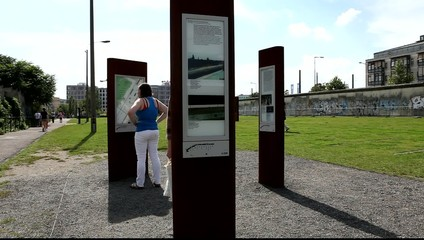 Gedenkstätte Berliner Mauer an der Bernauer Straße in Berlin