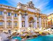 Fountain di Trevi ,Rome. Italy.