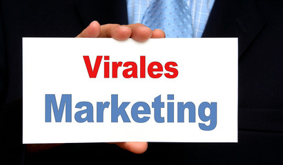 Virales Marketing - Business Konzept