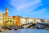 Fototapety Beautiful street,Grand Canal in Venice, Italy