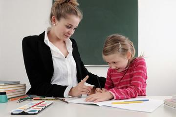 Erziehungsarbeit in der Schule