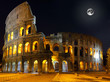 The Colosseum, Rome.  Night view