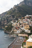 Italy, Amalfi Coast. View of the town of Positano