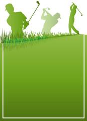 Golf Sport Plakat