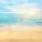 Sea and sand background - Fine Art prints