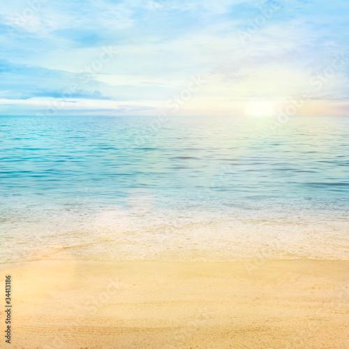 Meer und Sand Hintergrund