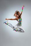 Fototapete Dancing - Lächeln - Gesundheit / Turnen / Tanz