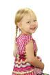 Portrait eines kleinen lachenden Mädchens
