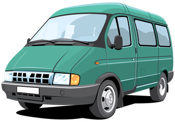 Vector isolated minibus without gradients