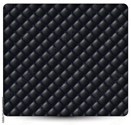 black genuine leather pattern background