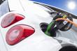 Elektroauto - bekanntes Serienfahrzeug beim Aufladen