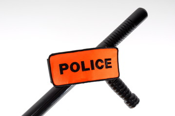baton tonfa brassard police