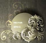 Fototapety Floral Banner Design