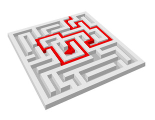 Labyrinth - maze puzzle without exit