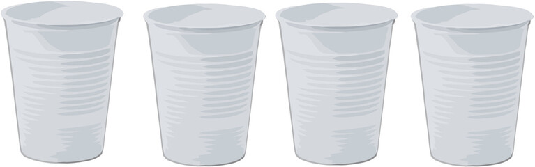 bicchiere plastica