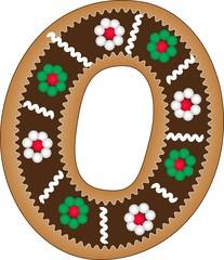 o gingerbread alphabet