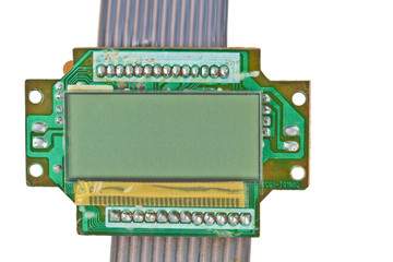 The printed-circuit board with electronic components