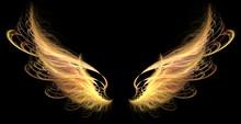 """Постер, картина, фотообои """"Demon Angel Fire hell Wings"""""""