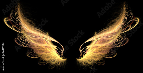Demon Angel Fire hell Wings
