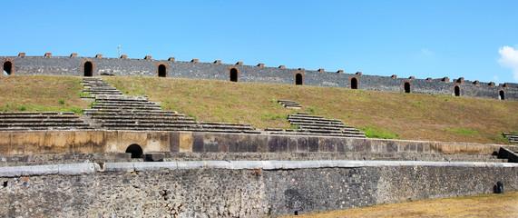 Aamphitheater in  Pompei, Italy, Naples