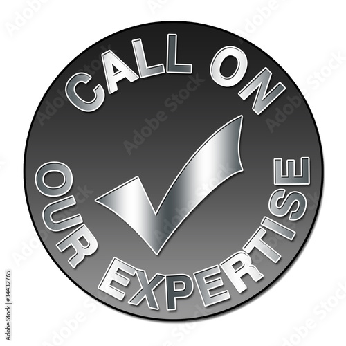 "Label ""Call on our expertise"""