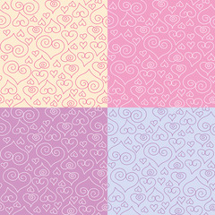 patterns with hearts