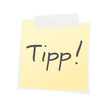 Tipp, Post-It