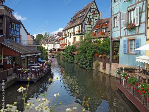 La petite Venise à Colmar - Haut-Rhin - Alsace