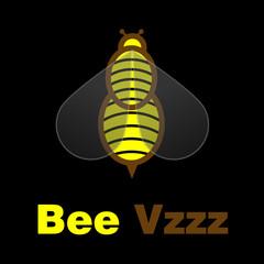 Bee Vzzz Logo Design