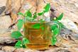Tee mit Aztekischen Süßkraut (Lippa Dulcis) als Zuckerersatz