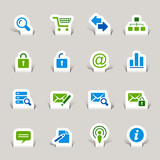 Papercut - Website and Internet Icons