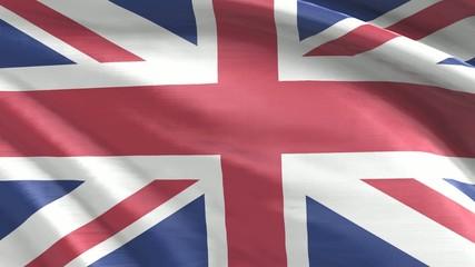 Nahtlos wiederholende Flagge UK/England