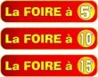 BOUTON FOIRE A 5 , 10 , 15
