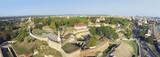 Belgrade aerial panorama poster