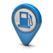 Blue fuel icon