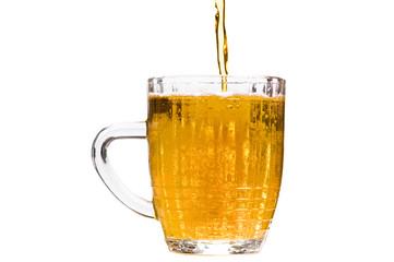 beer on white