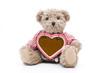 Teddy mit Lebkuchenherz
