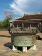 Bronze Pot at Hue Royal Palace