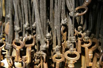 Keys on the strings