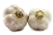Two big garlics