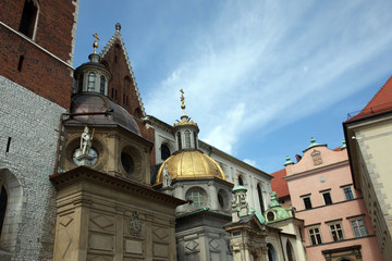 Krakow Cathedral domes