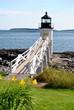 Seasonal Marshall Point Lighthouse, Maine, USA