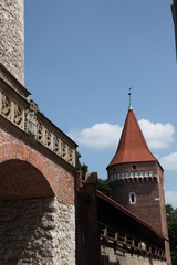 Krakow medieval city wall